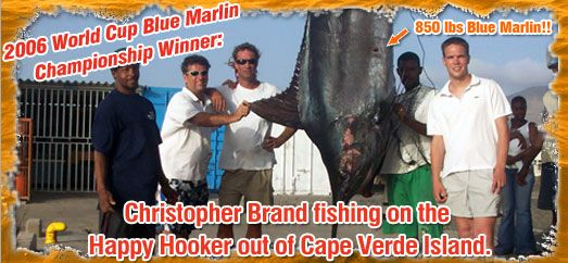 2006 Blue Marlin World Cup Winner